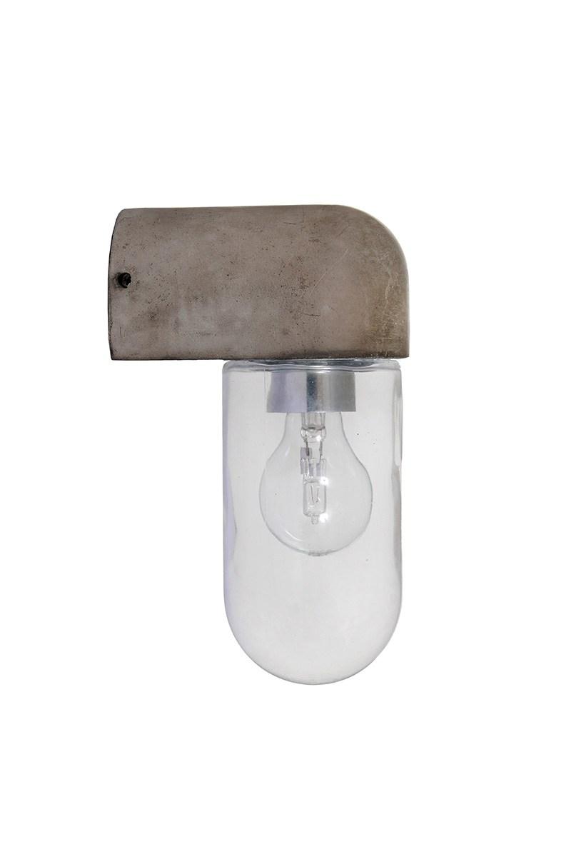 Southbank Outdoor Wall Light – Polymer Concrete | Garden Trading Inside Outdoor Wall Light Glass (#11 of 15)