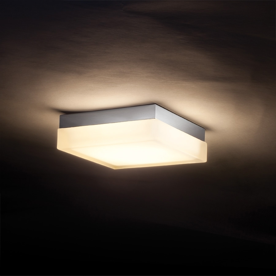 Square Wall/ceiling Lightdweledwac Lighting | Fm 4006 30 Ch Intended For Decorative Outdoor Ceiling Lights (#15 of 15)