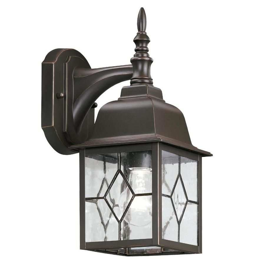 Stained Glass Outdoor Light Inspirational Shop Outdoor Wall Lights Intended For Outdoor Wall Light Glass (#12 of 15)