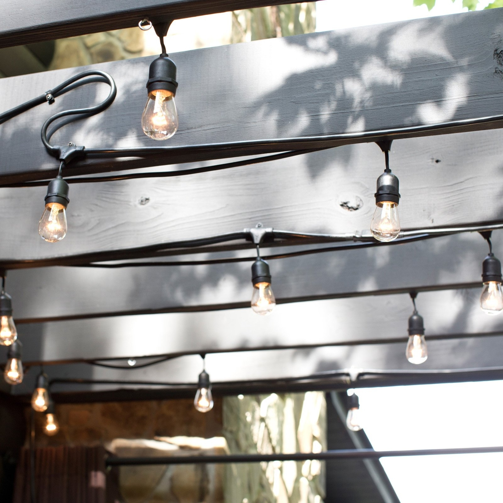 String Light Company Vintage Metro Outdoor String Lights | Hayneedle In Outdoor Hanging Lights On String (View 13 of 15)