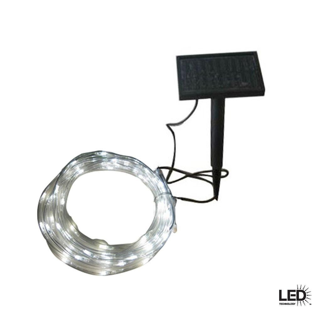 String Lights – Outdoor Lighting – The Home Depot For Contemporary Solar Driveway Lights At Home Depot (#12 of 15)