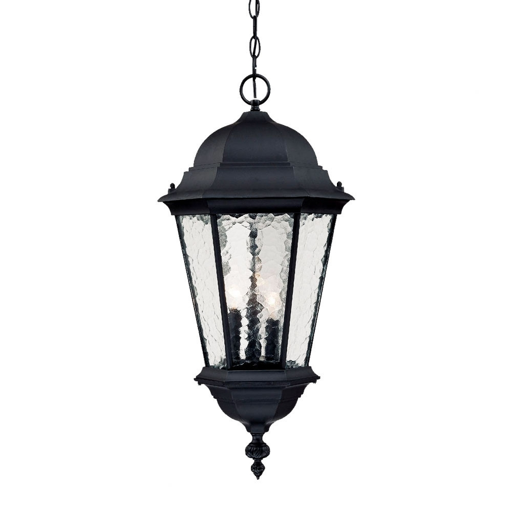 Telfair 3 Light Outdoor Hanging Lantern | Outdoor Hanging Lights Pertaining To Outdoor Lighting And Light Fixtures At Wayfair (View 2 of 15)