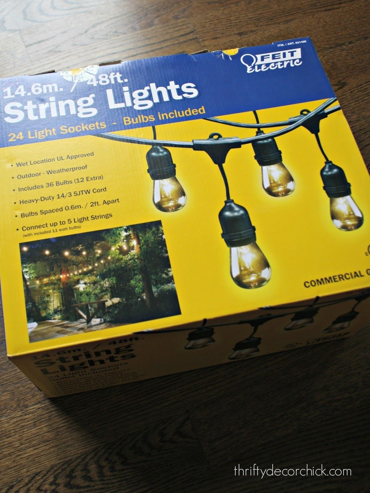 Inspiration about The Best Outdoor Lights | Outdoor String Lighting, Costco And Bulbs In Hanging Outdoor String Lights At Costco (#1 of 15)