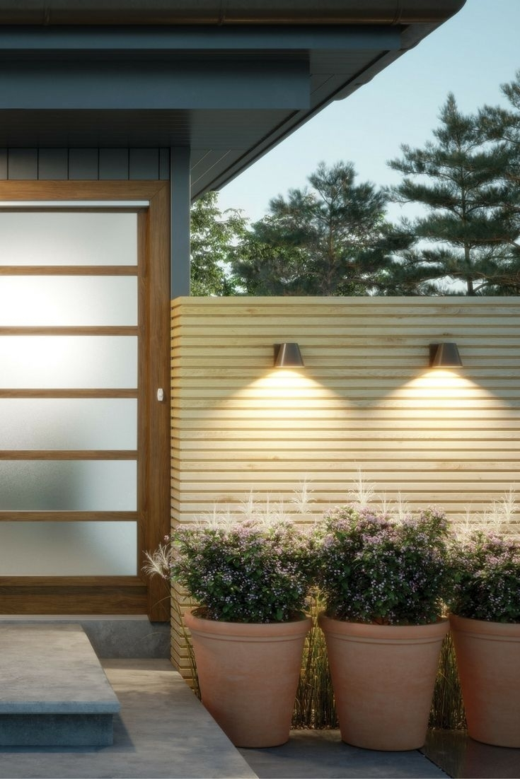 The Bowman 6 Led Outdoor Wall Sconcestech Lighting Are Inspired For Marine Grade Outdoor Wall Lights (#15 of 15)