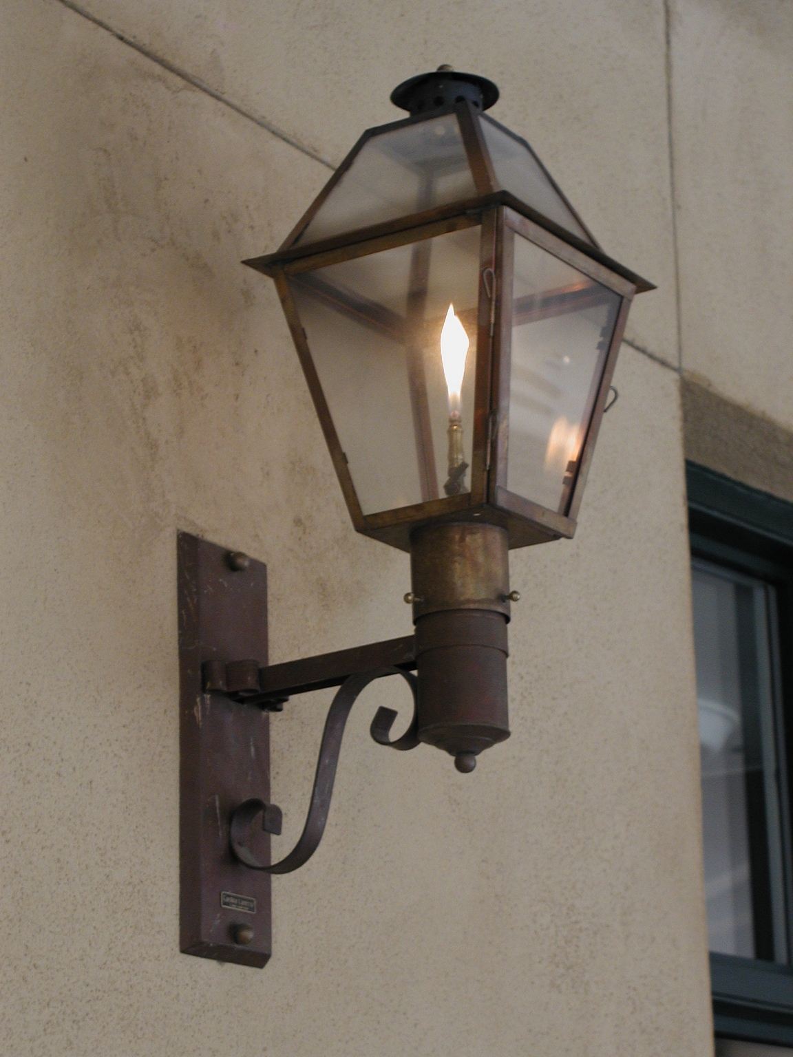 Inspiration about The Charleston Lantern — Gas Or Electric | The Charleston Collection With Outdoor Hanging Gas Lanterns (#15 of 15)