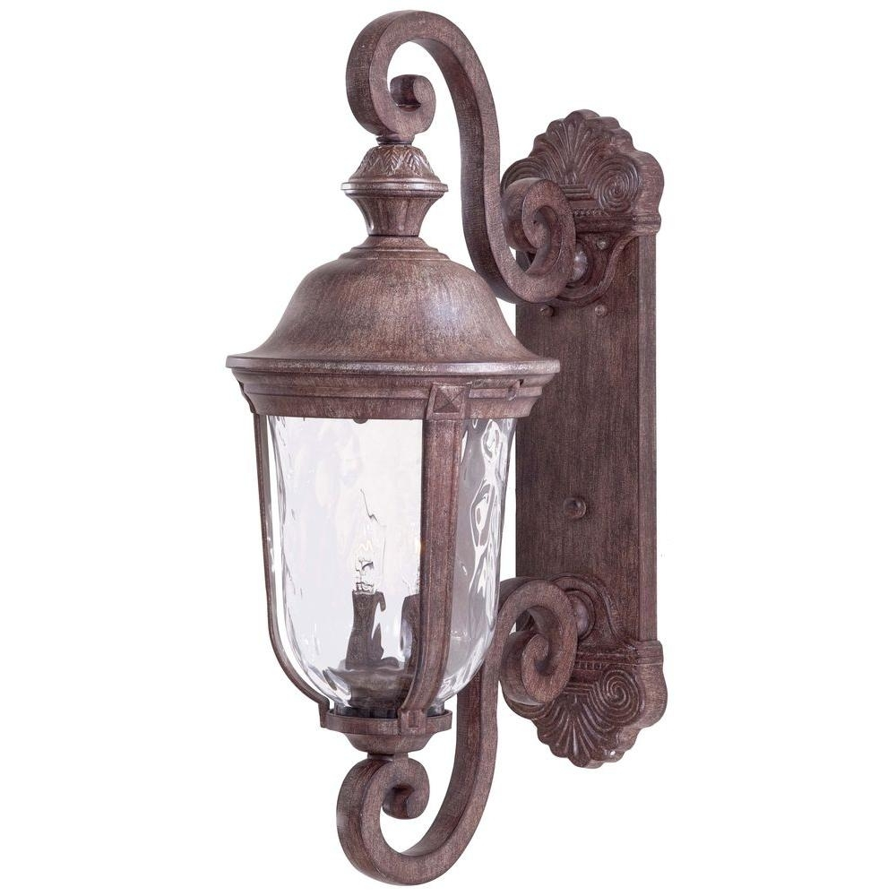 Inspiration about The Great Outdoorsminka Lavery Ardmore 2 Light Vintage Rust Intended For Retro Outdoor Wall Lighting (#9 of 15)