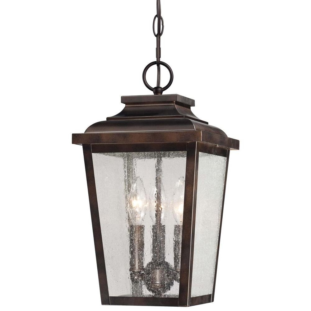 Inspiration about The Great Outdoorsminka Lavery Irvington Manor 3 Light Chelsea Intended For Traditional Outdoor Hanging Lights (#9 of 15)