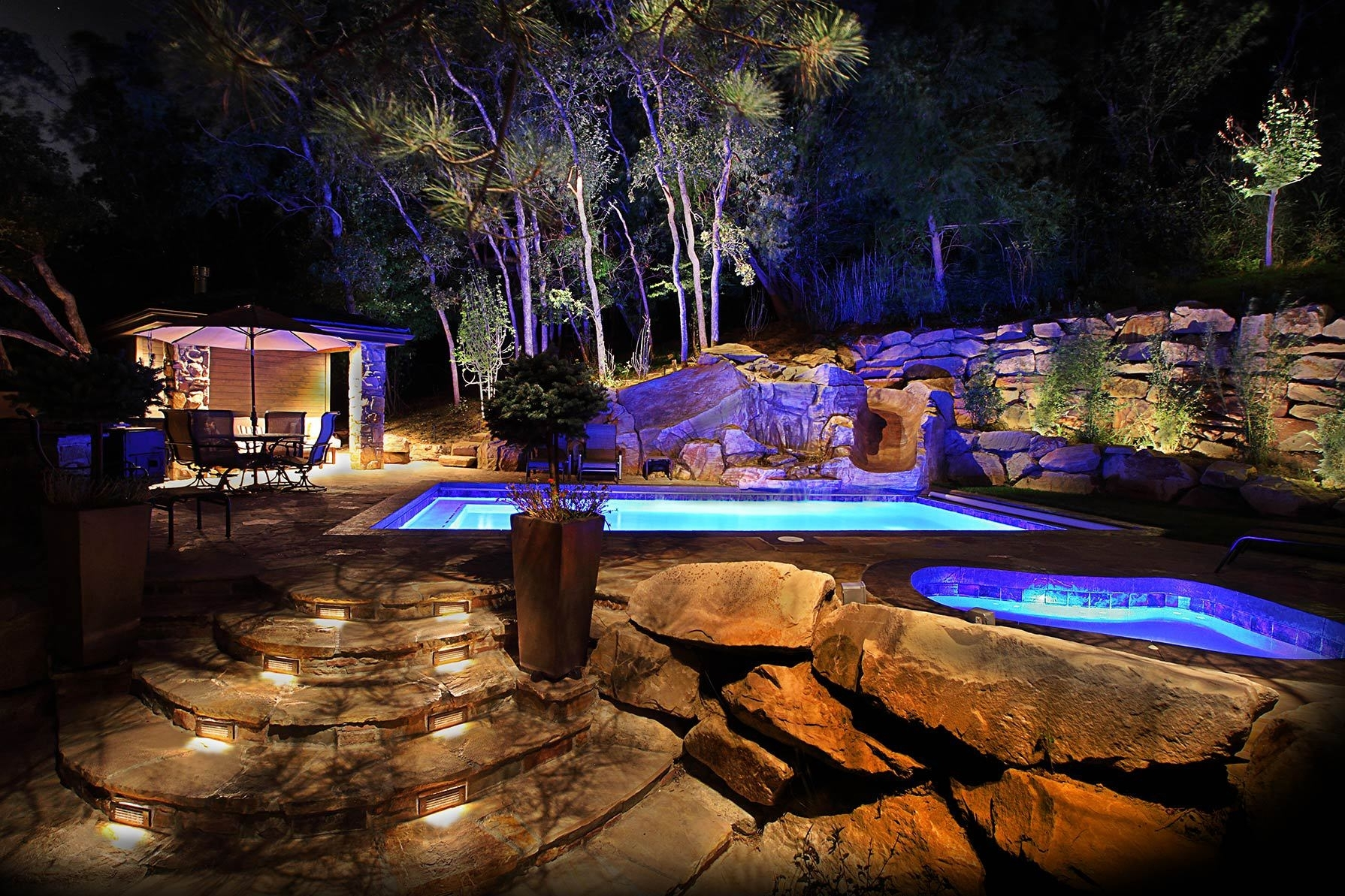Inspiration about The Low Voltage Deck Lighting — Jbeedesigns Outdoor : Low Voltage For Modern Garden Low Voltage Deck Lighting (#12 of 15)