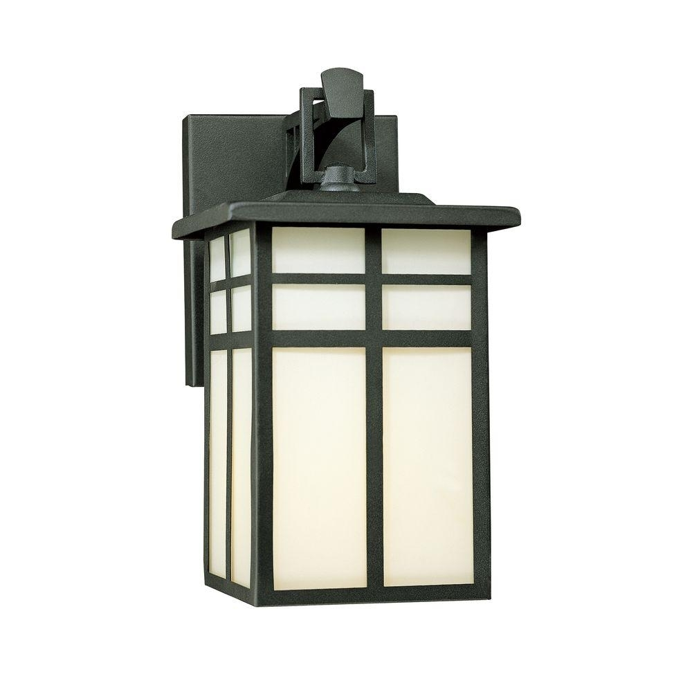 Inspiration about Thomas Lighting Mission 1 Light Black Outdoor Wall Mount Lantern Intended For Mission Style Outdoor Wall Lighting (#3 of 15)