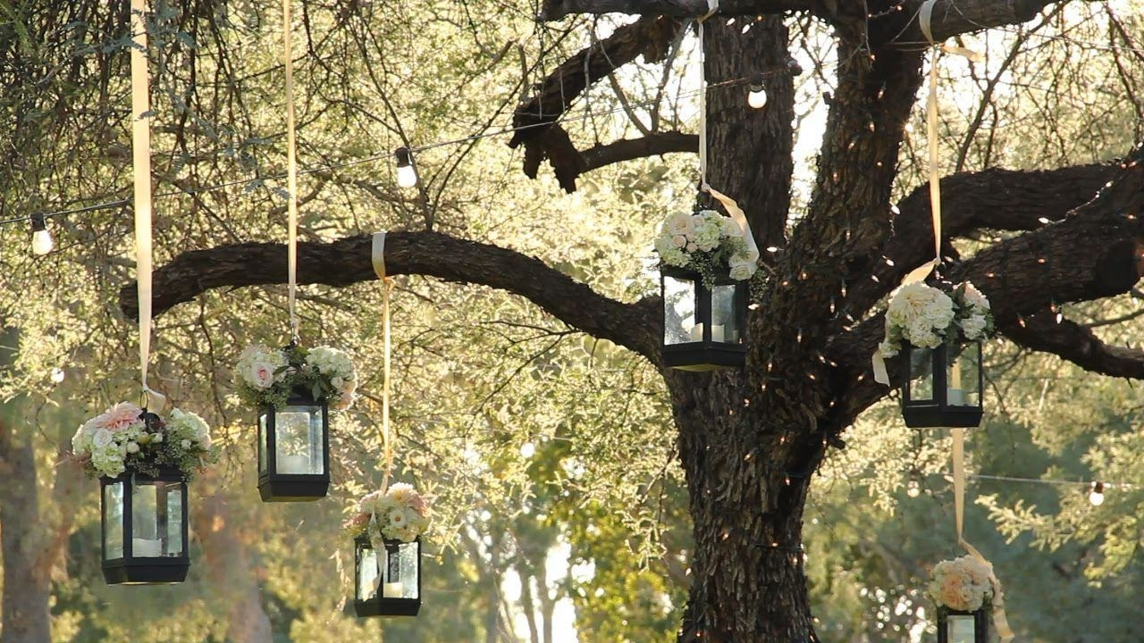15 Collection of Outdoor Hanging Lanterns for Wedding