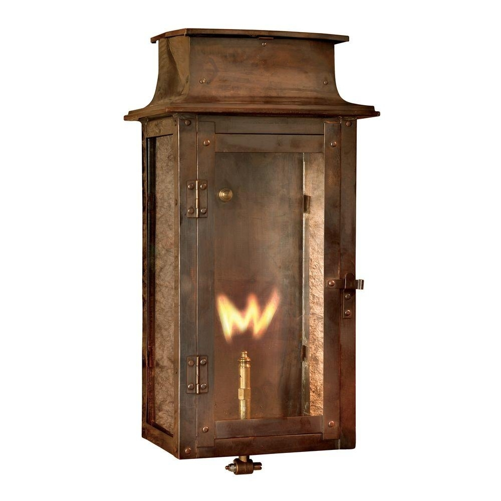 Inspiration about Titan Lighting Maryville Washed Pewter Gas Outdoor Wall Lantern Tn Within Outdoor Wall Gas Lights (#4 of 15)