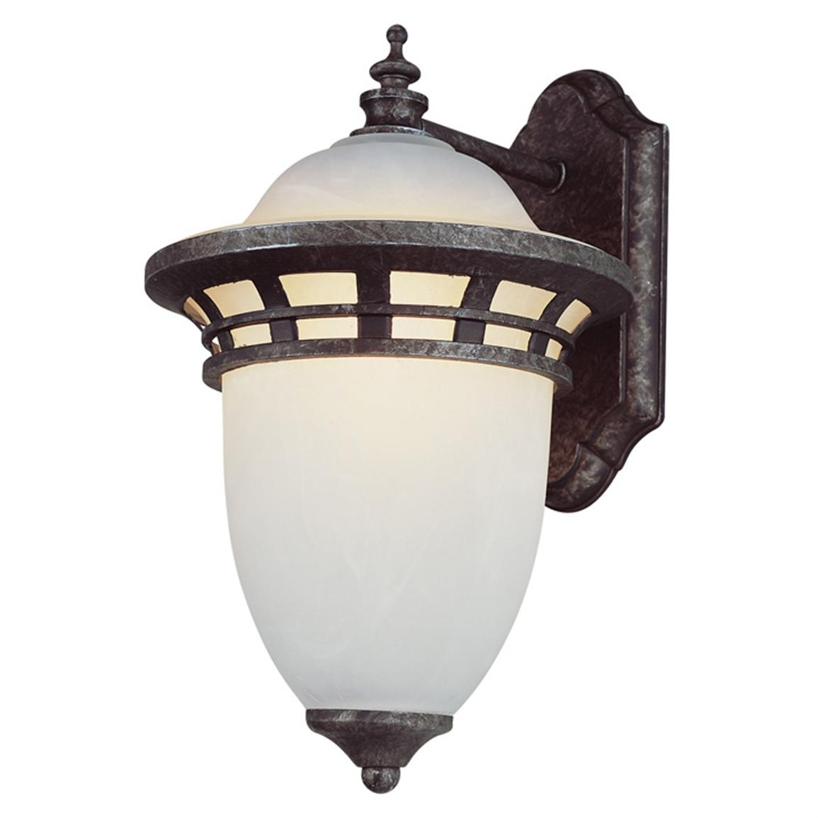Trans Globe Lighting 1 – Light Outdoor Antique Wall Lantern – 173599 Inside Outdoor Wall Mounted Globe Lights (#14 of 15)