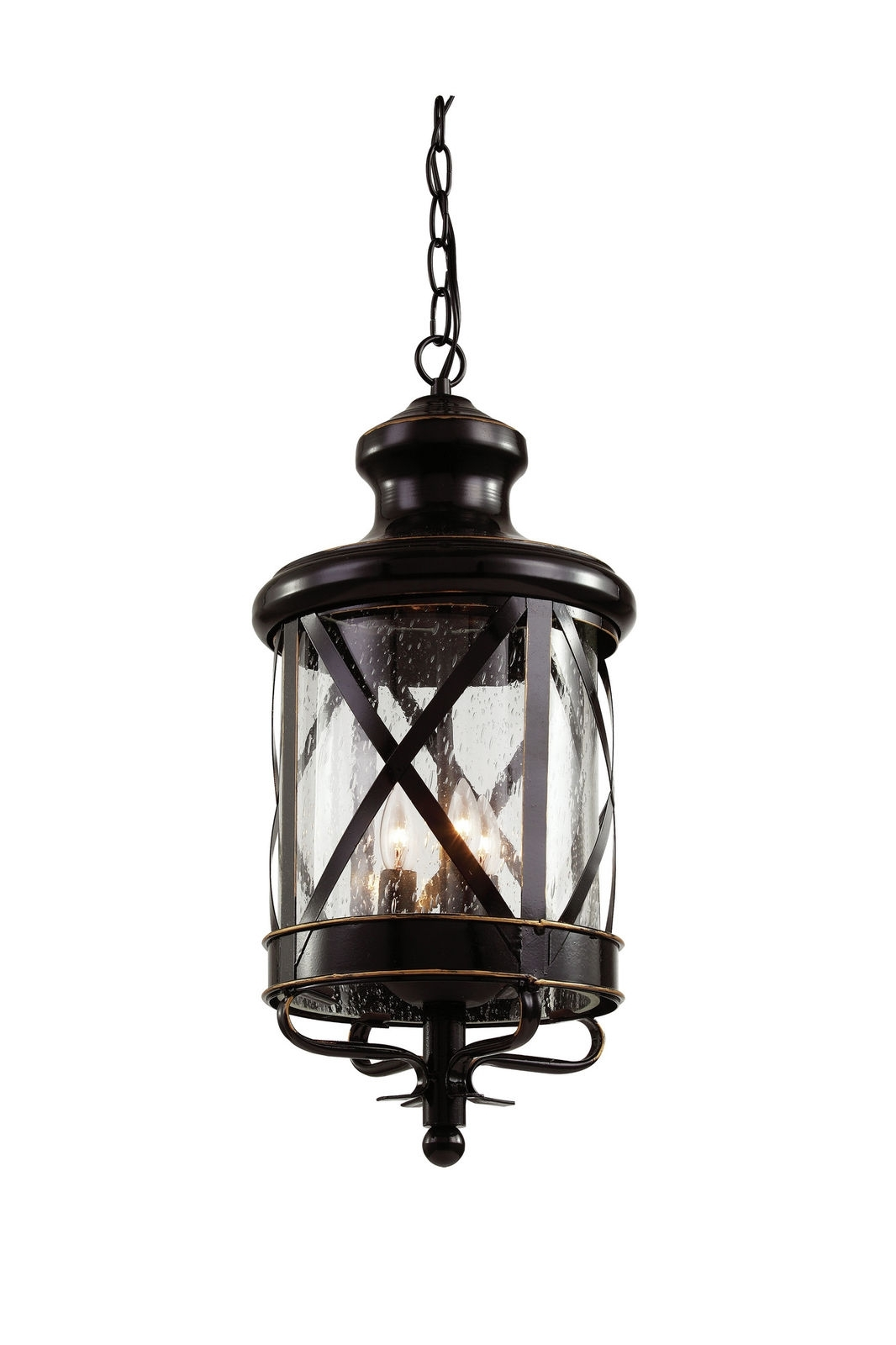 Trans Globe Lighting 5124 Rob Outdoor Hanging Light In Rubbed Oil Inside Outdoor Hanging Oil Lanterns (#14 of 15)