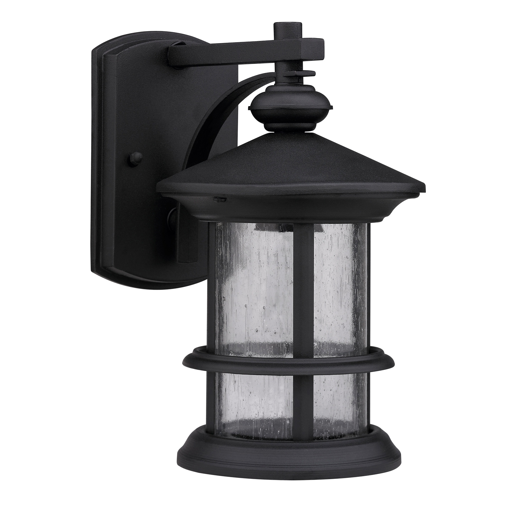 Inspiration about Transitional Black One Light Weatherproof Outdoor Wall Fixture Within Transitional Outdoor Wall Lighting (#6 of 15)