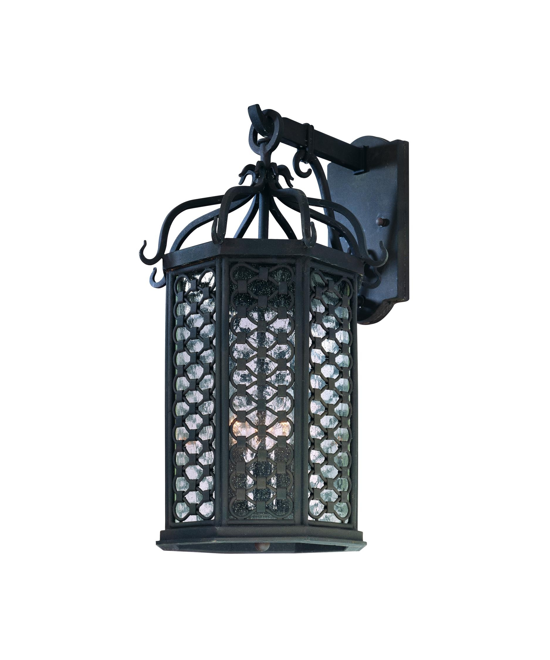Troy Lighting B2373 Los Olivos 11 Inch Wide 3 Light Outdoor Wall Intended For Outdoor Hanging Wall Lanterns (#13 of 15)