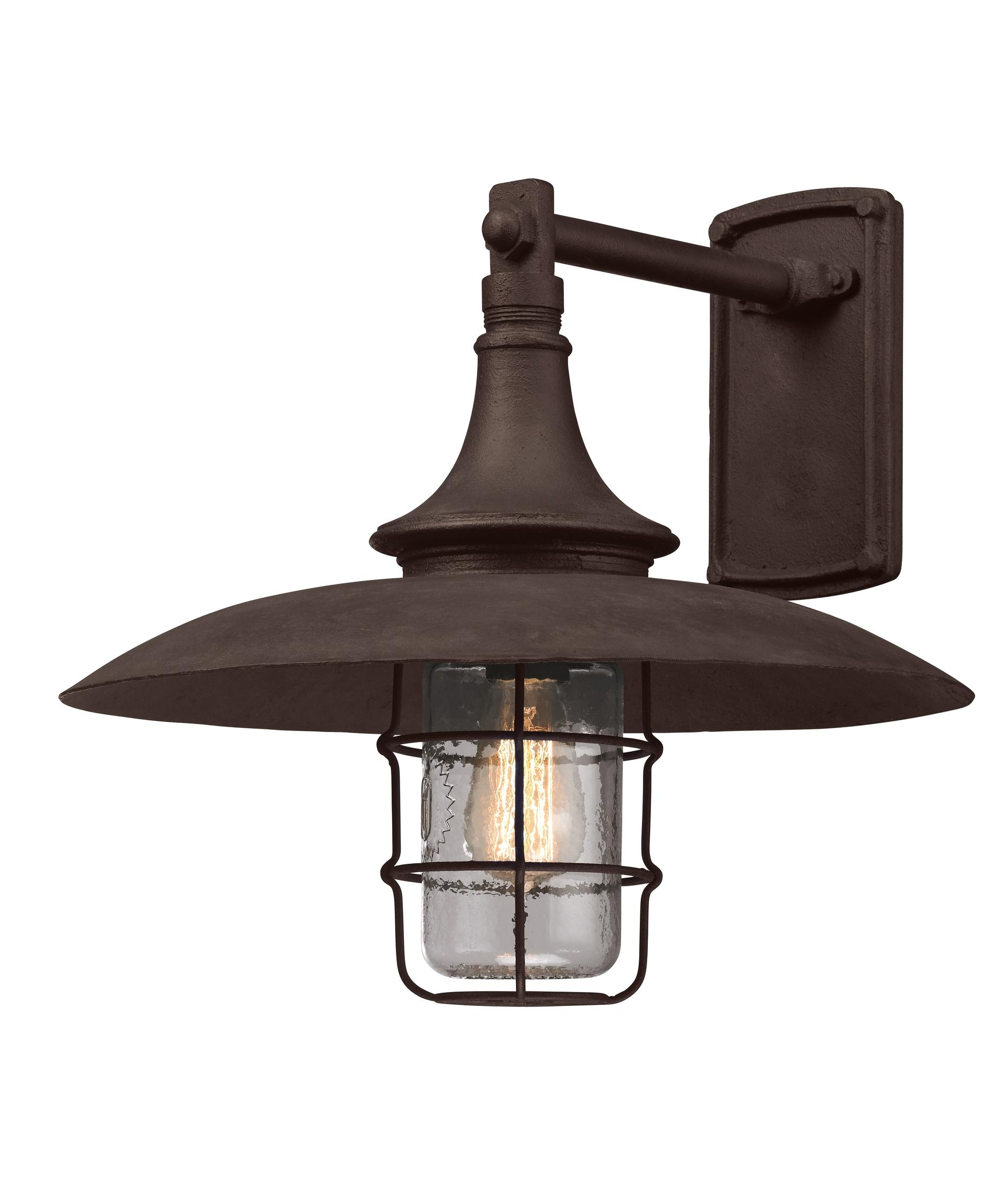 Inspiration about Troy Lighting B3222 Allegany 16 Inch Wide 1 Light Outdoor Wall Light For Retro Outdoor Wall Lighting (#3 of 15)