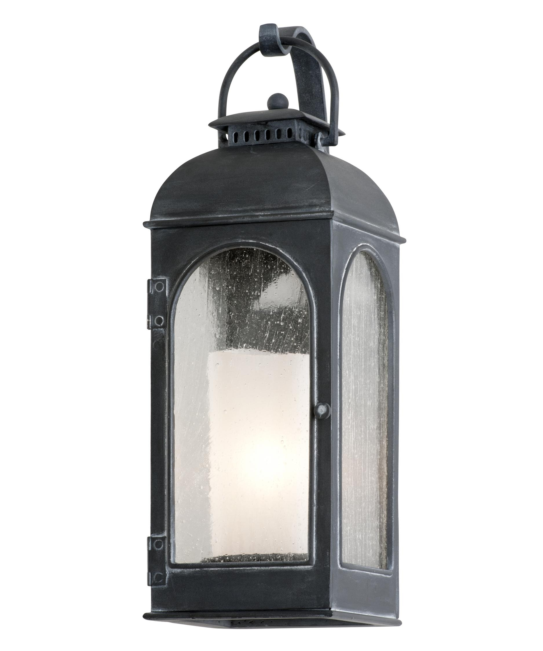 Inspiration about Troy Lighting B3281 Derby 6 Inch Wide 1 Light Outdoor Wall Light With Outdoor Wall Lighting With Seeded Glass (#1 of 15)