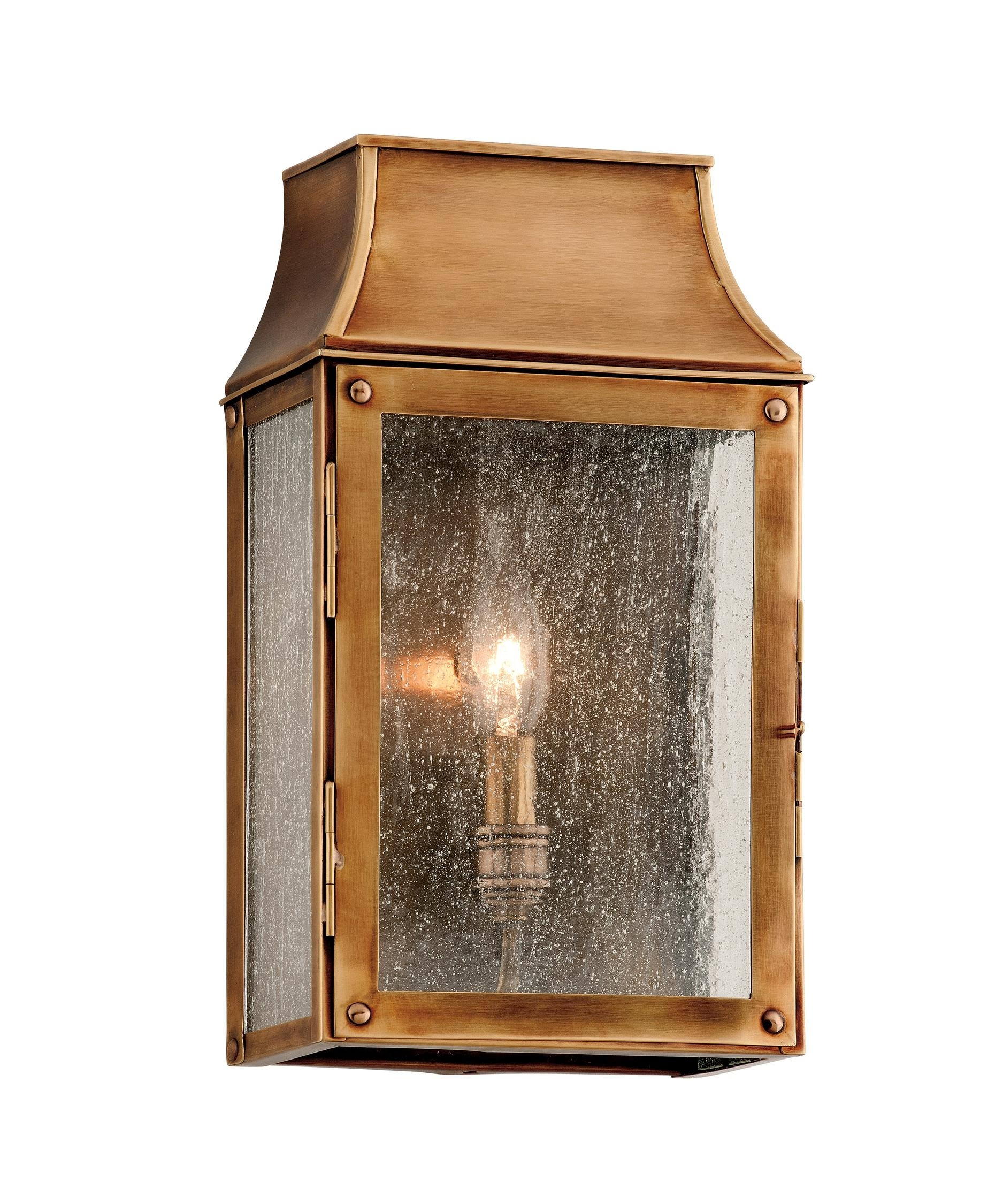 Inspiration about Troy Lighting B3421 Beacon Hill 7 Inch Wide 1 Light Outdoor Wall With Outdoor Wall Lighting With Seeded Glass (#5 of 15)