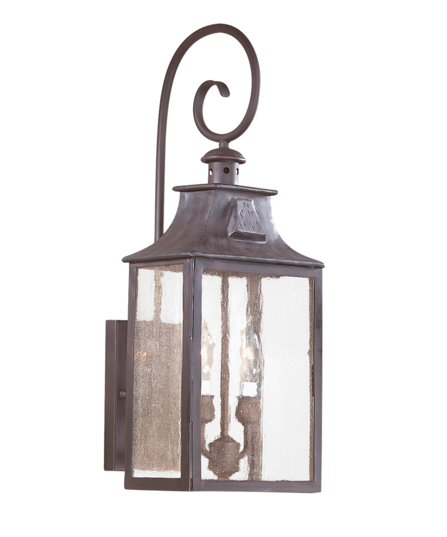 Inspiration about Troy Lighting B9002 Newton 9 Inch Wide 2 Light Outdoor Wall Light For Outdoor Wall Lighting With Seeded Glass (#11 of 15)