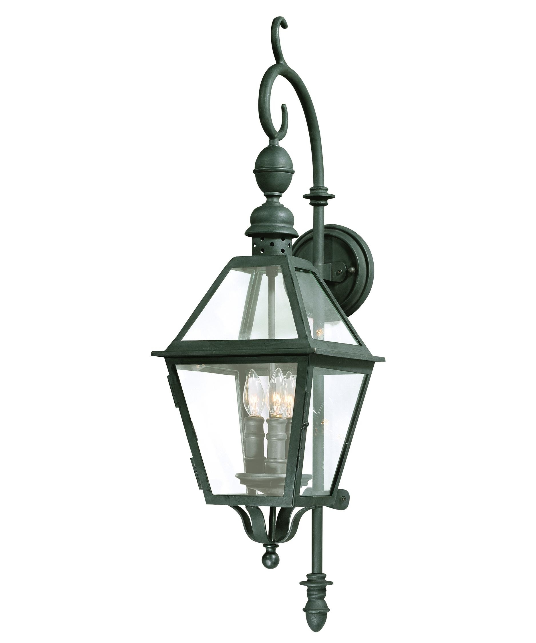 Troy Lighting B9621 Townsend 9 Inch Wide 3 Light Outdoor Wall Light Within Troy Lighting Outdoor Wall Sconces (#10 of 15)