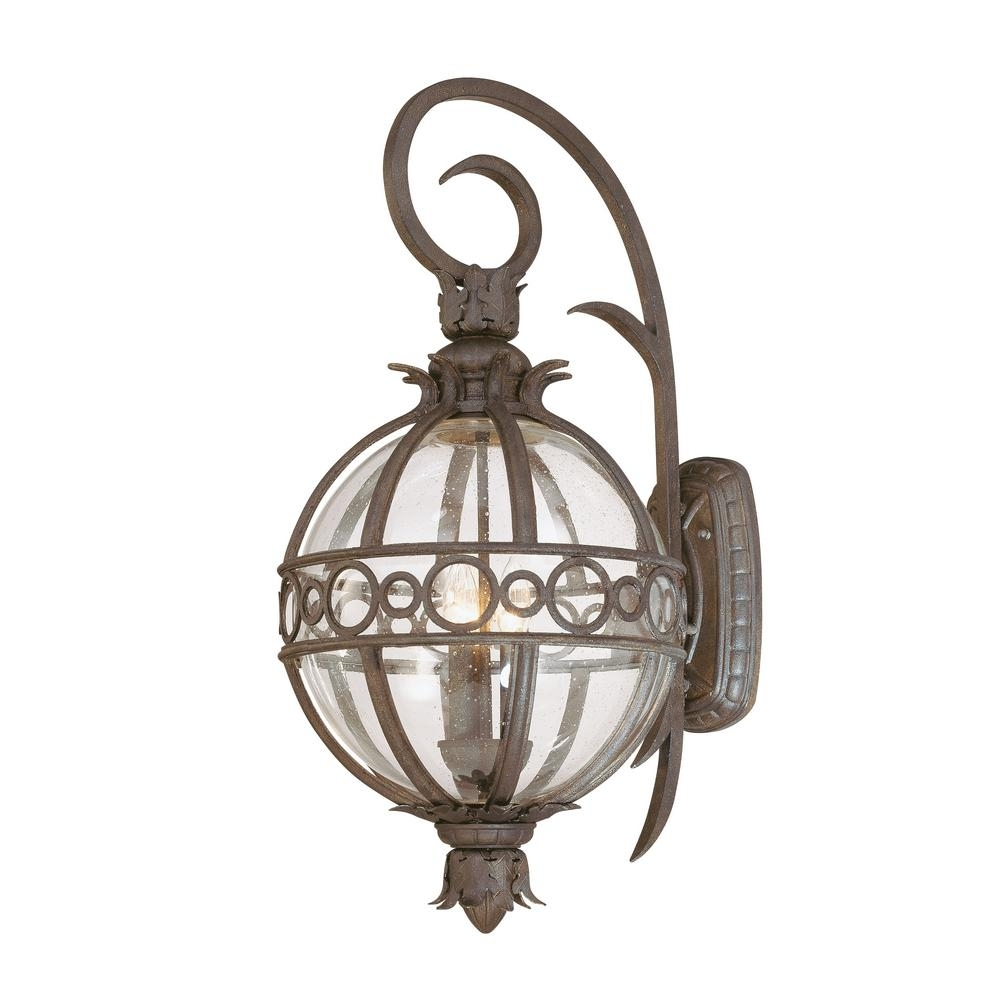 Inspiration about Troy Lighting Campanile 3 Light Campanile Bronze Outdoor Wall Mount Within Tropical Outdoor Wall Lighting (#14 of 15)