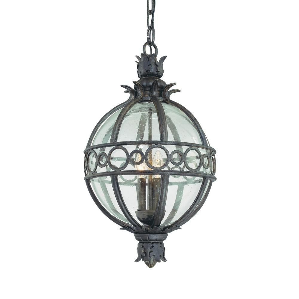 Inspiration about Troy Lighting Campanile 4 Light Campanile Bronze Outdoor Pendant In Troy Outdoor Hanging Lights (#12 of 15)