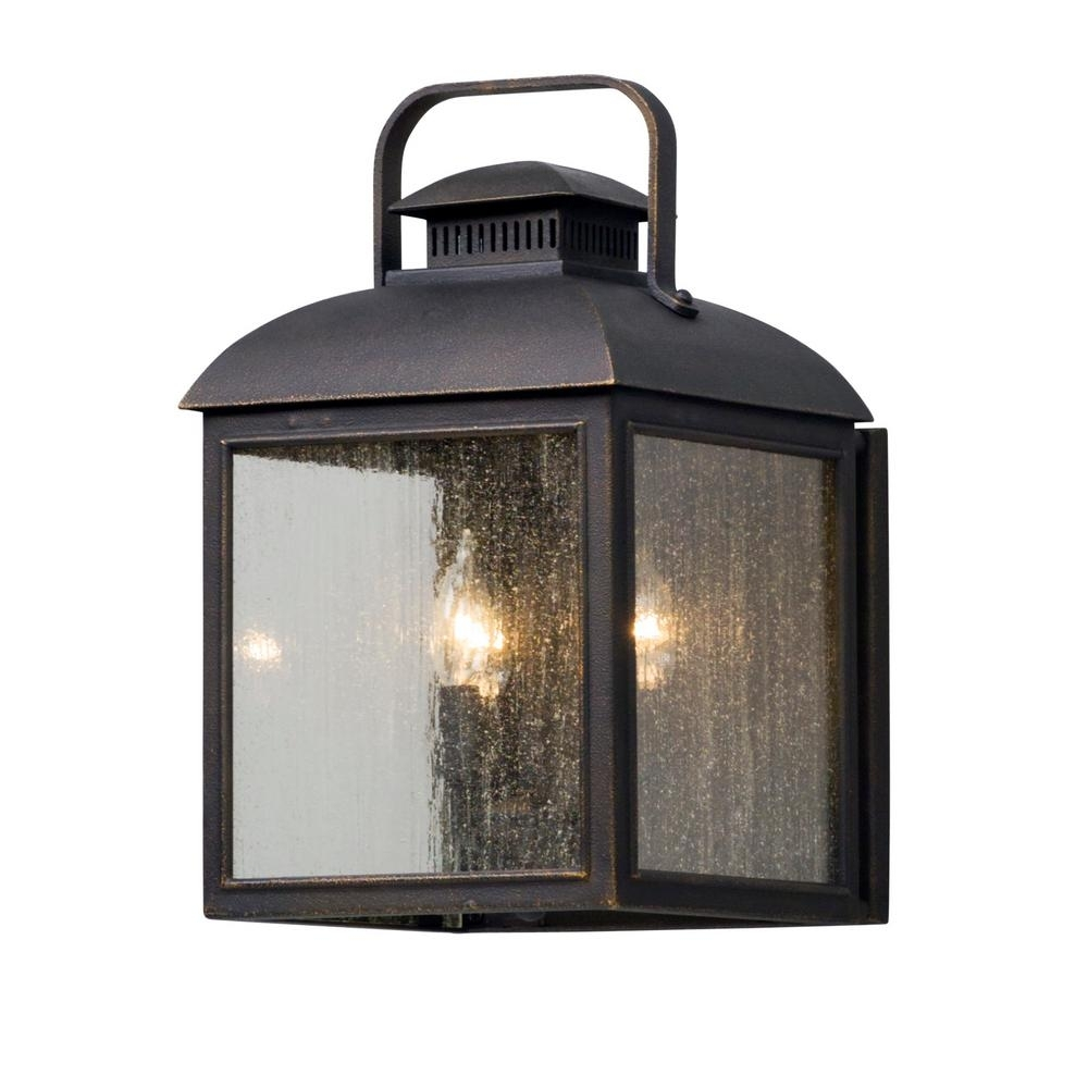 Inspiration about Troy Lighting Chamberlain 3 Light Vintage Bronze Outdoor Wall Mount For Troy Lighting Outdoor Wall Sconces (#8 of 15)