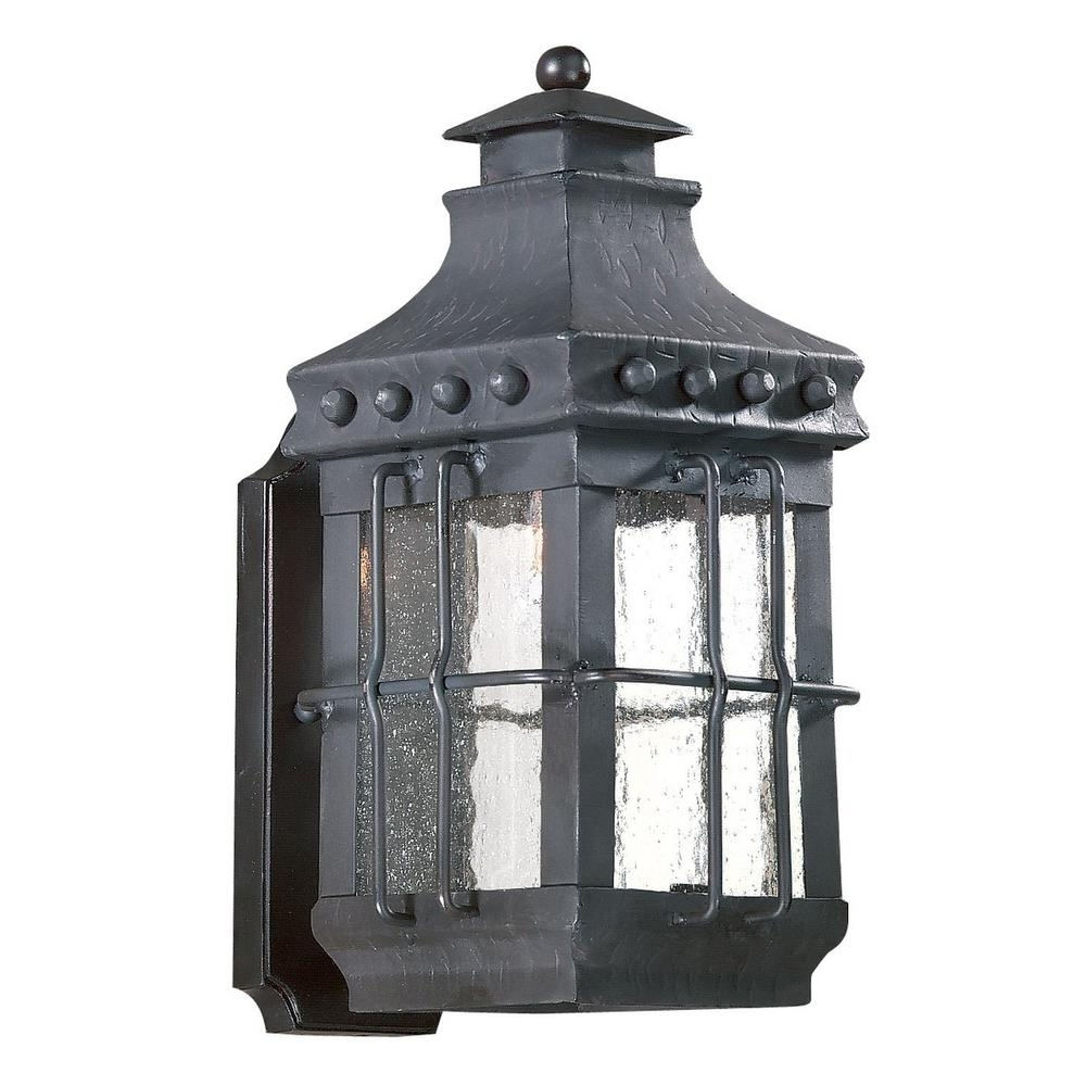 Inspiration about Troy Lighting Dover 1 Light Natural Bronze Outdoor Wall Mount With Outdoor Wall Mounted Accent Lighting (#6 of 15)