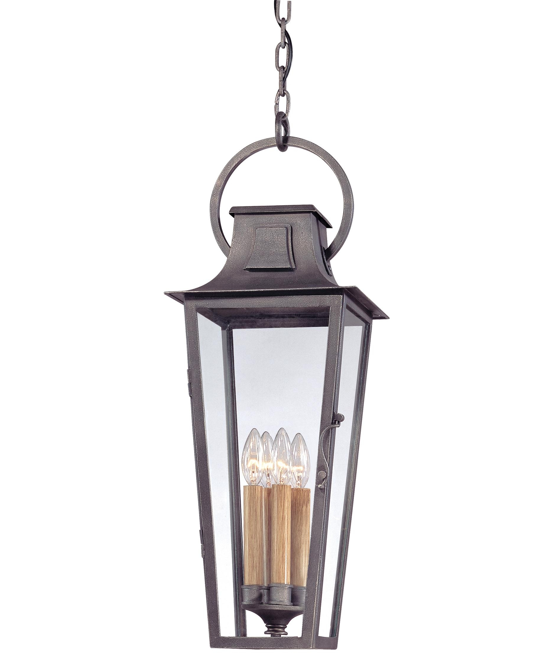 Inspiration about Troy Lighting F2967 French Quarter 10 Inch Wide 4 Light Outdoor Pertaining To Outdoor Hanging Coach Lights (#12 of 15)