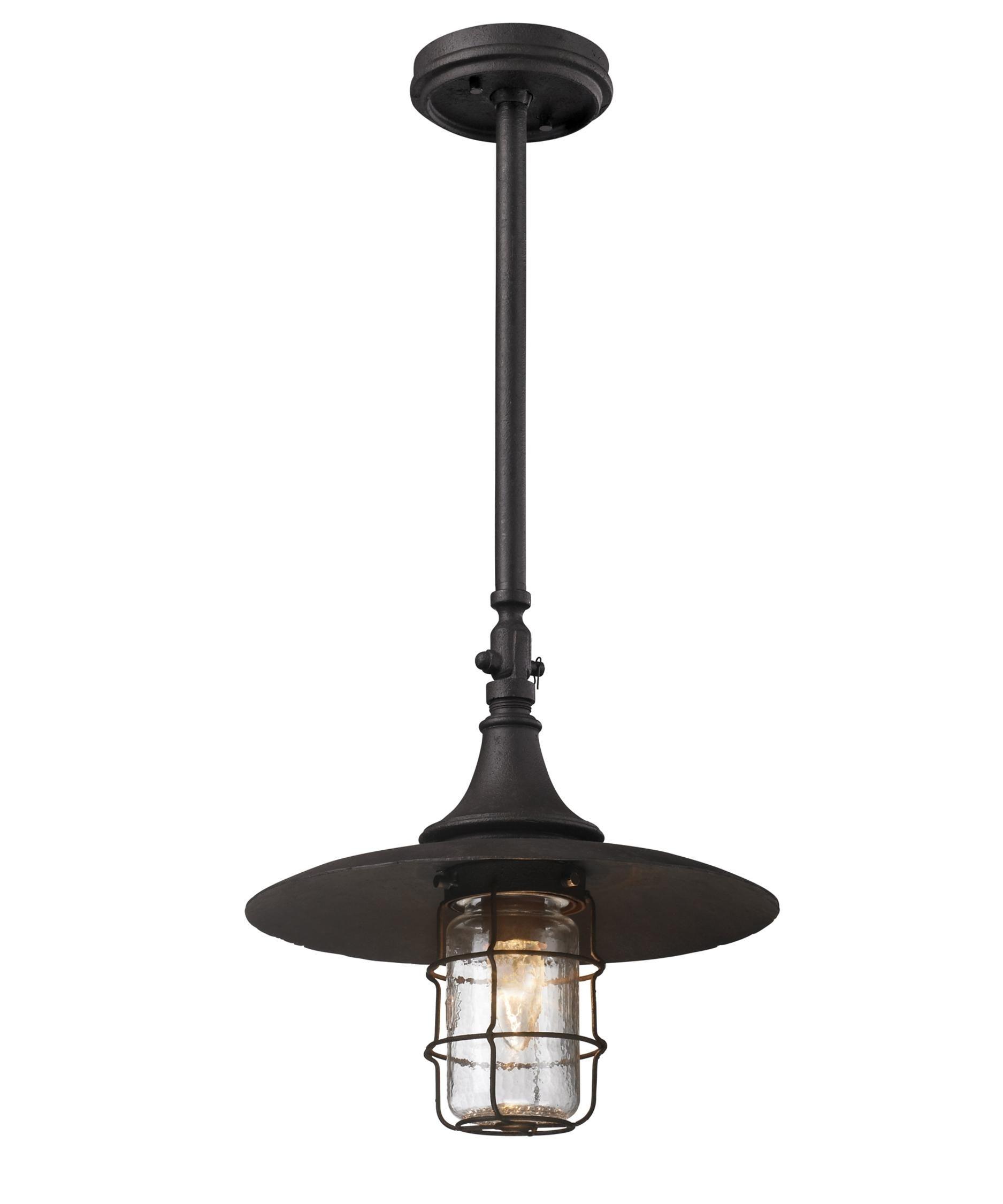 Inspiration about Troy Lighting F3228 Allegany Dark Sky 1 Light Outdoor Hanging Regarding Troy Outdoor Hanging Lights (#7 of 15)
