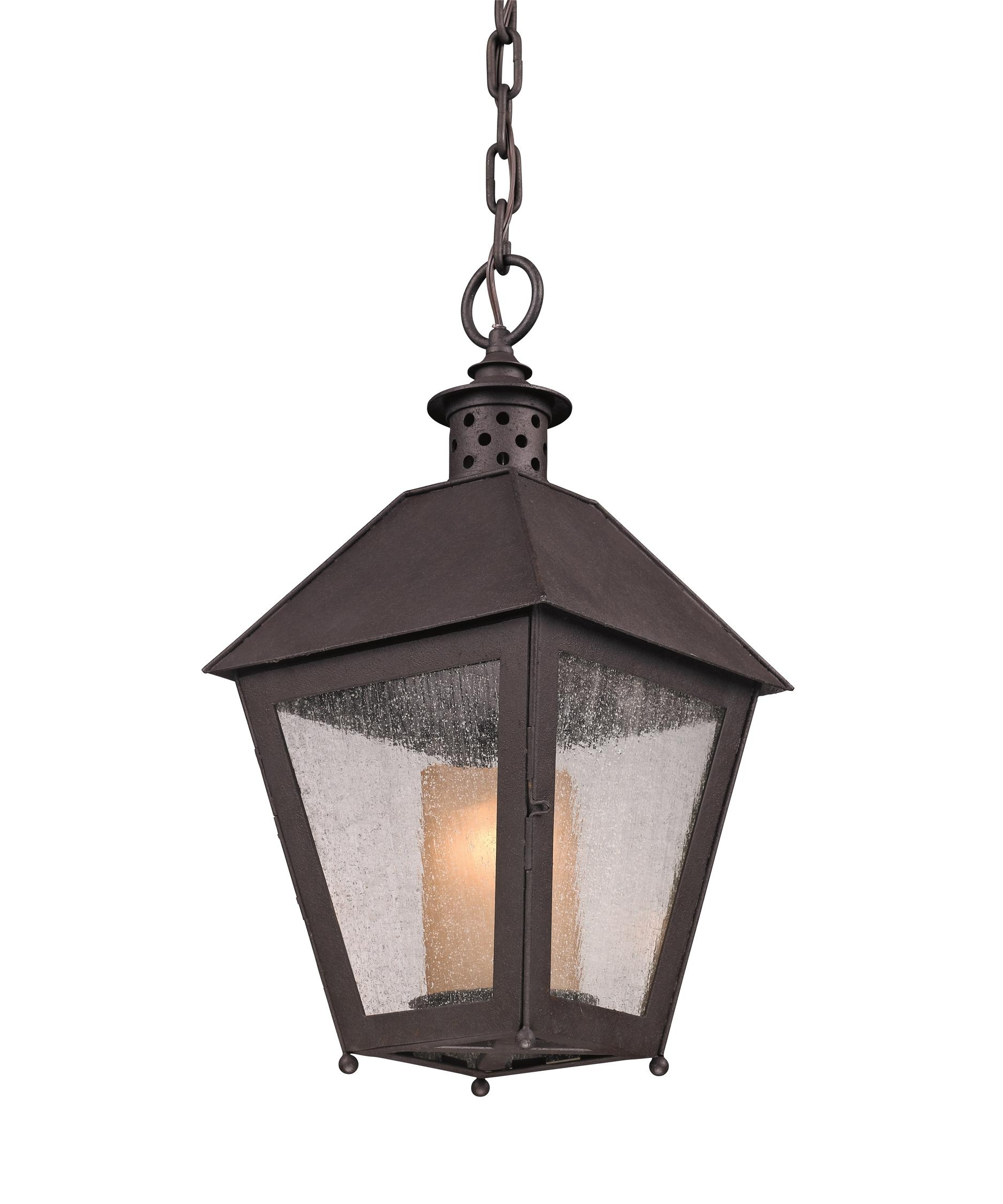 Inspiration about Troy Lighting F3297 Sagamore 10 Inch Wide 1 Light Outdoor Hanging Inside Outdoor Hanging Glass Lanterns (#6 of 15)