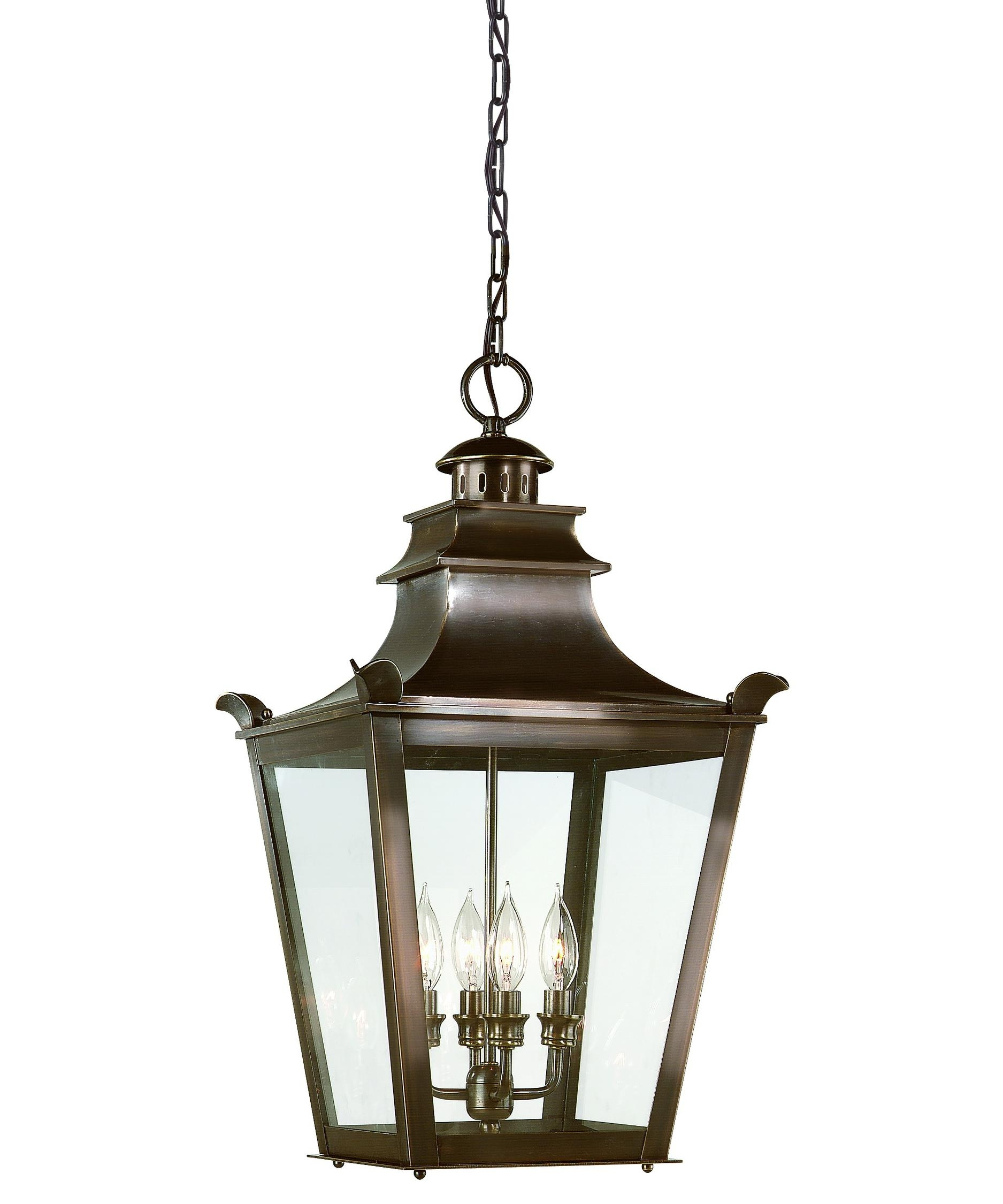 Troy Lighting F9499 Dorchester 14 Inch Wide 4 Light Outdoor Hanging With Regard To Outdoor Hanging Glass Lights (#15 of 15)