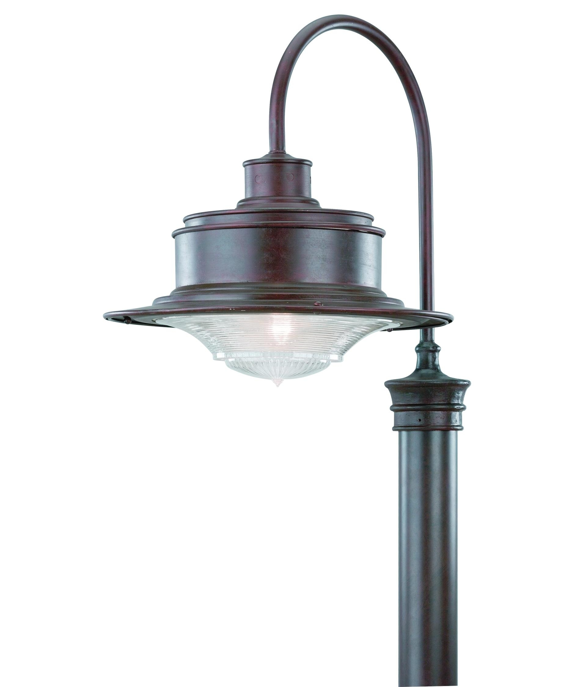 Inspiration about Troy Lighting P9394 South Street 17 Inch Wide 1 Light Outdoor Post Inside Modern Outdoor Post Lighting (#1 of 15)