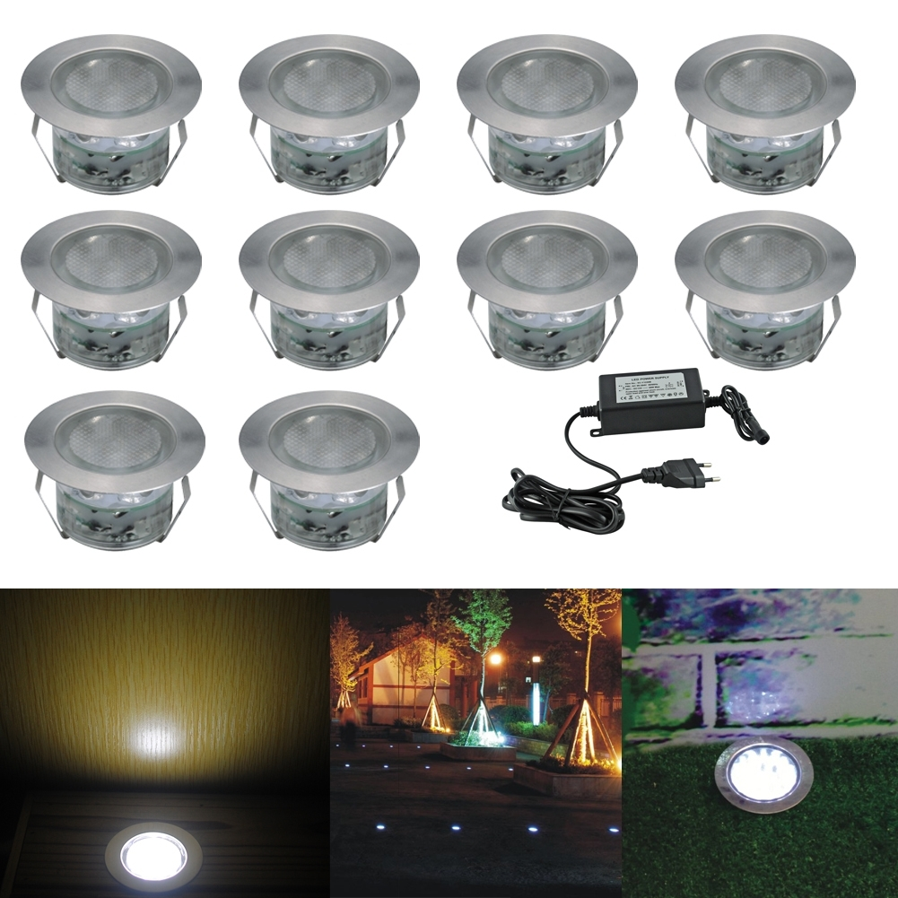Inspiration about Us$ 49.99 – Fvtled Low Voltage Led Deck Lighting Kit Stainless Steel Throughout Garden Low Voltage Deck Lighting (#11 of 15)