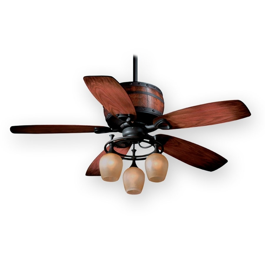"""Vaxcel 52"""" Cabernet Ceiling Fan 