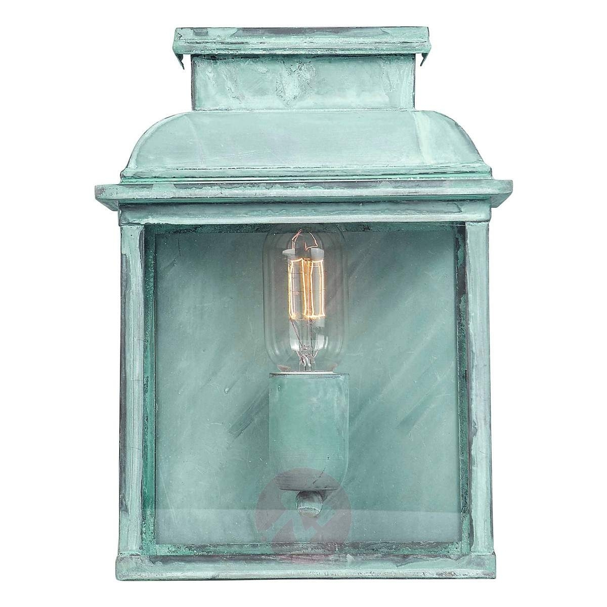 Inspiration about Verdigris Look – Outdoor Wall Lamp Old Bailey | Lights.co.uk With Regard To Verdigris Outdoor Wall Lighting (#13 of 15)