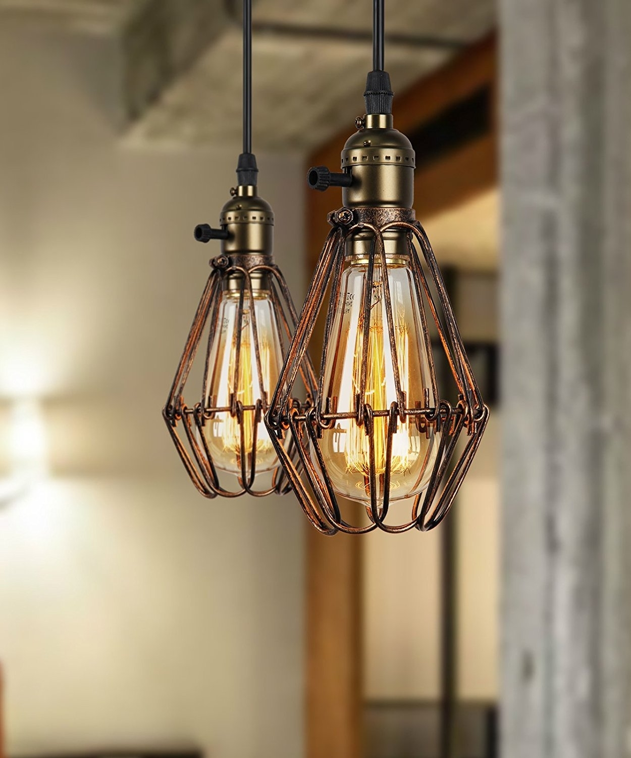 Inspiration about Very Characteristic Of Rustic Pendant Lighting | Jukem Home Design Pertaining To Vintage Outdoor Hanging Lights (#13 of 15)