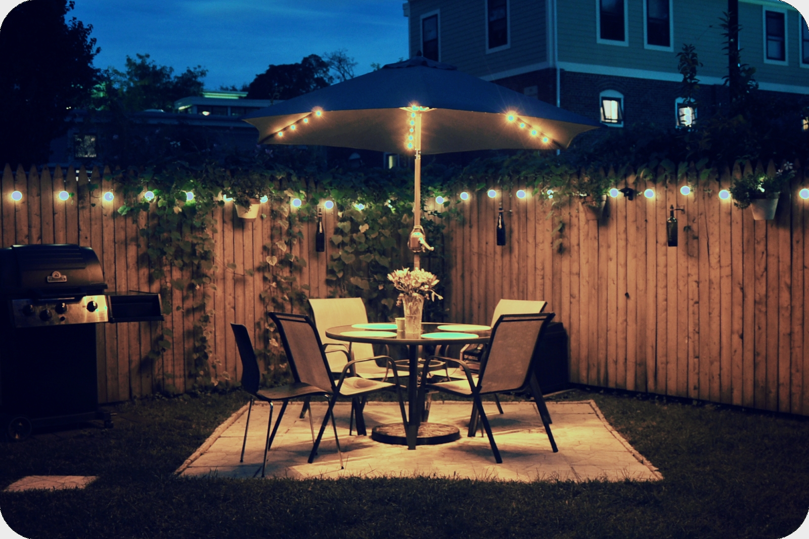 Inspiration about Very Fashionable Balcony Lighting Decorating Ideas — Balcony Ideas Pertaining To Hanging Outdoor Lights On Fence (#8 of 15)