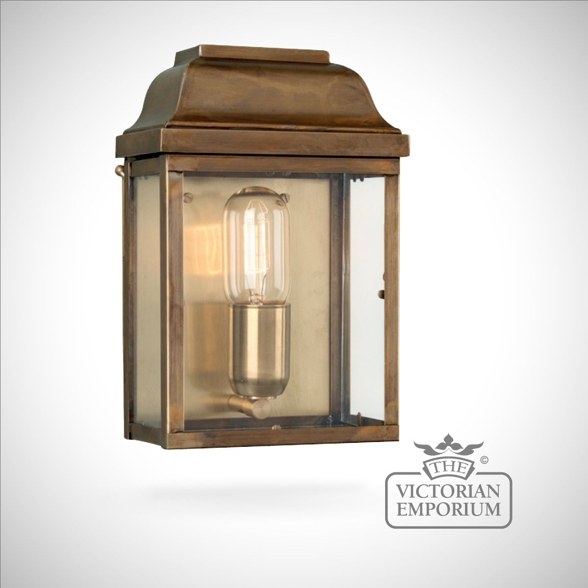Inspiration about Victoria Wall Lantern – Antique Brass | Outdoor Wall Lights In Outdoor Wall Lantern Lighting (#7 of 15)