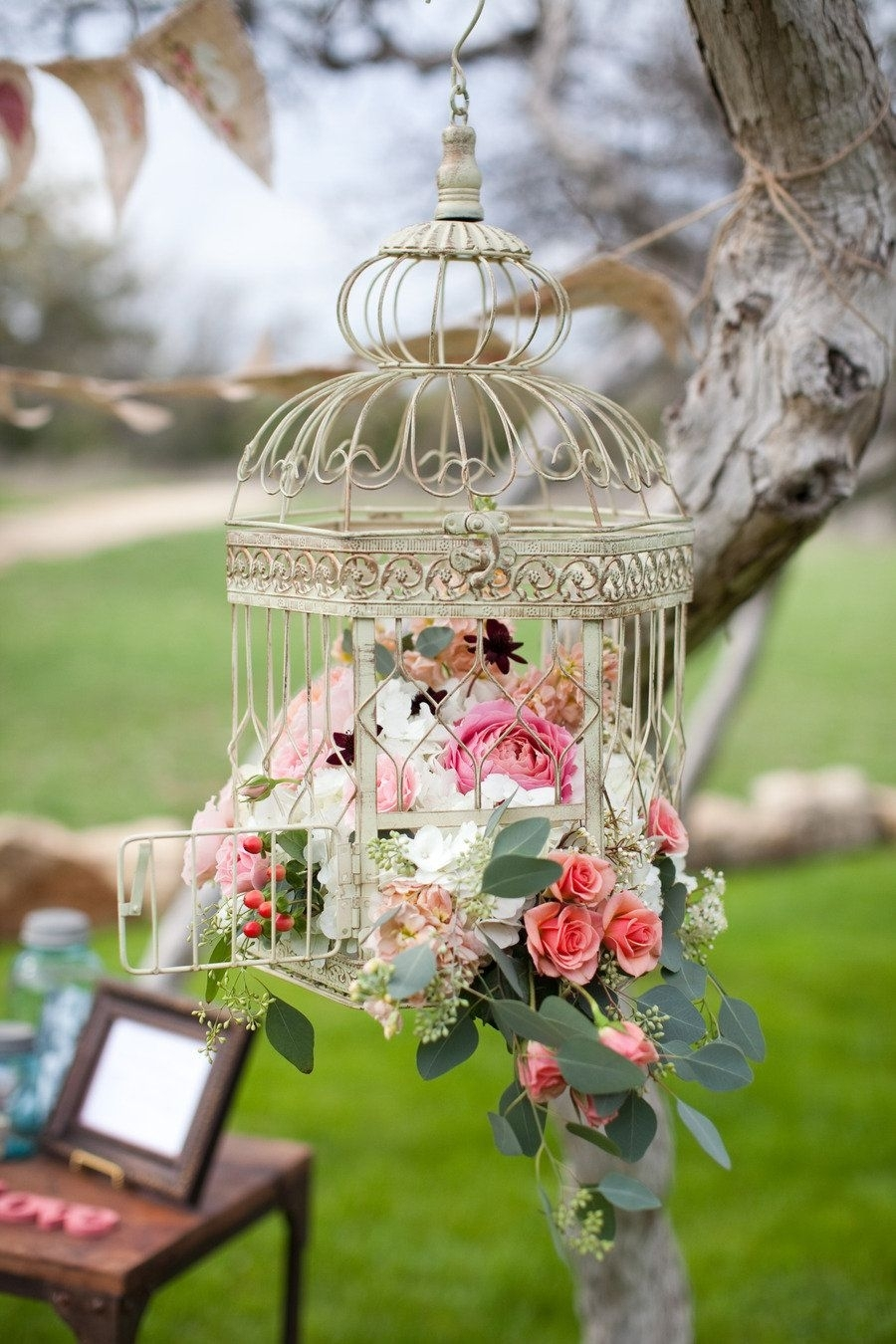 Inspiration about Vista West Ranch Weddingnicole Chatham Photography | Hanging With Outdoor Hanging Lanterns For Wedding (#11 of 15)