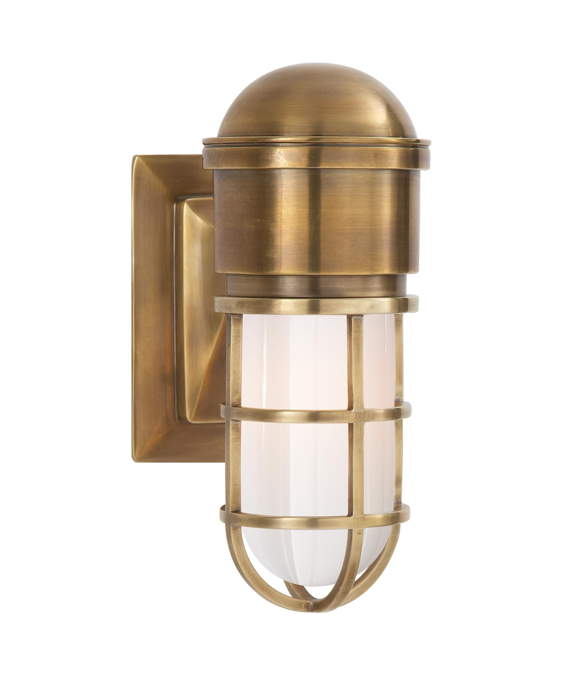 Inspiration about Visual Comfort Sl2000 E. F. Chapman Marine 5 Inch Wide Wall Sconce Within Beach Outdoor Wall Lighting (#7 of 15)
