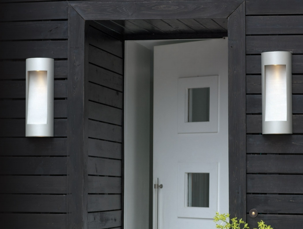 Wall Light: Outstanding Contemporary Exterior Wall Lights As Well As Within Contemporary Outdoor Wall Lights (#15 of 15)