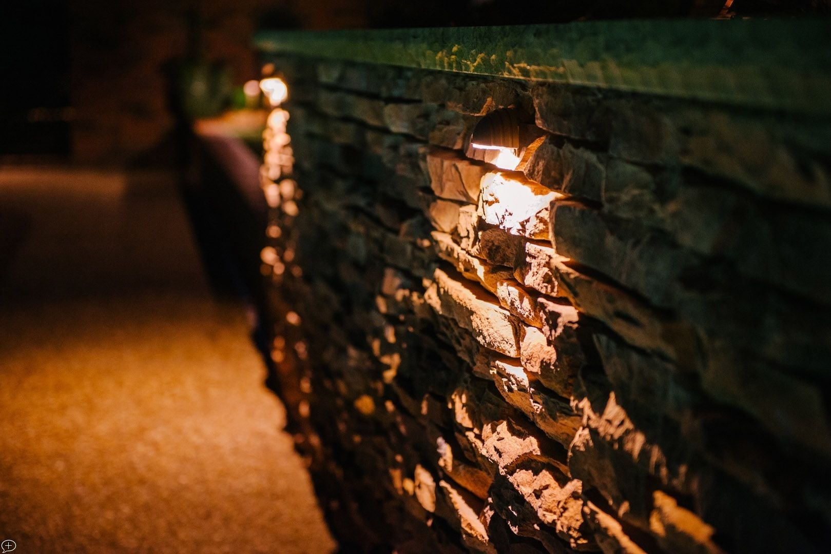 Wall Wash Lighting Is A Perfect Way To Illuminate Patios With In Outdoor Rock Wall Lighting (#15 of 15)