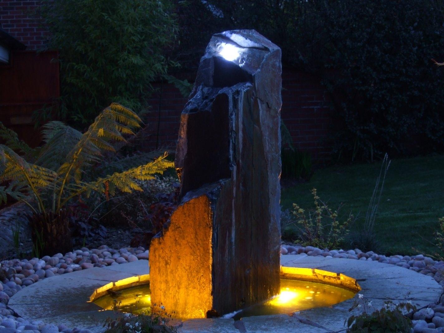 Water Features, Outdoor Lighting Gardens Dublin Ireland Within Ireland Outdoor Lighting (#15 of 15)
