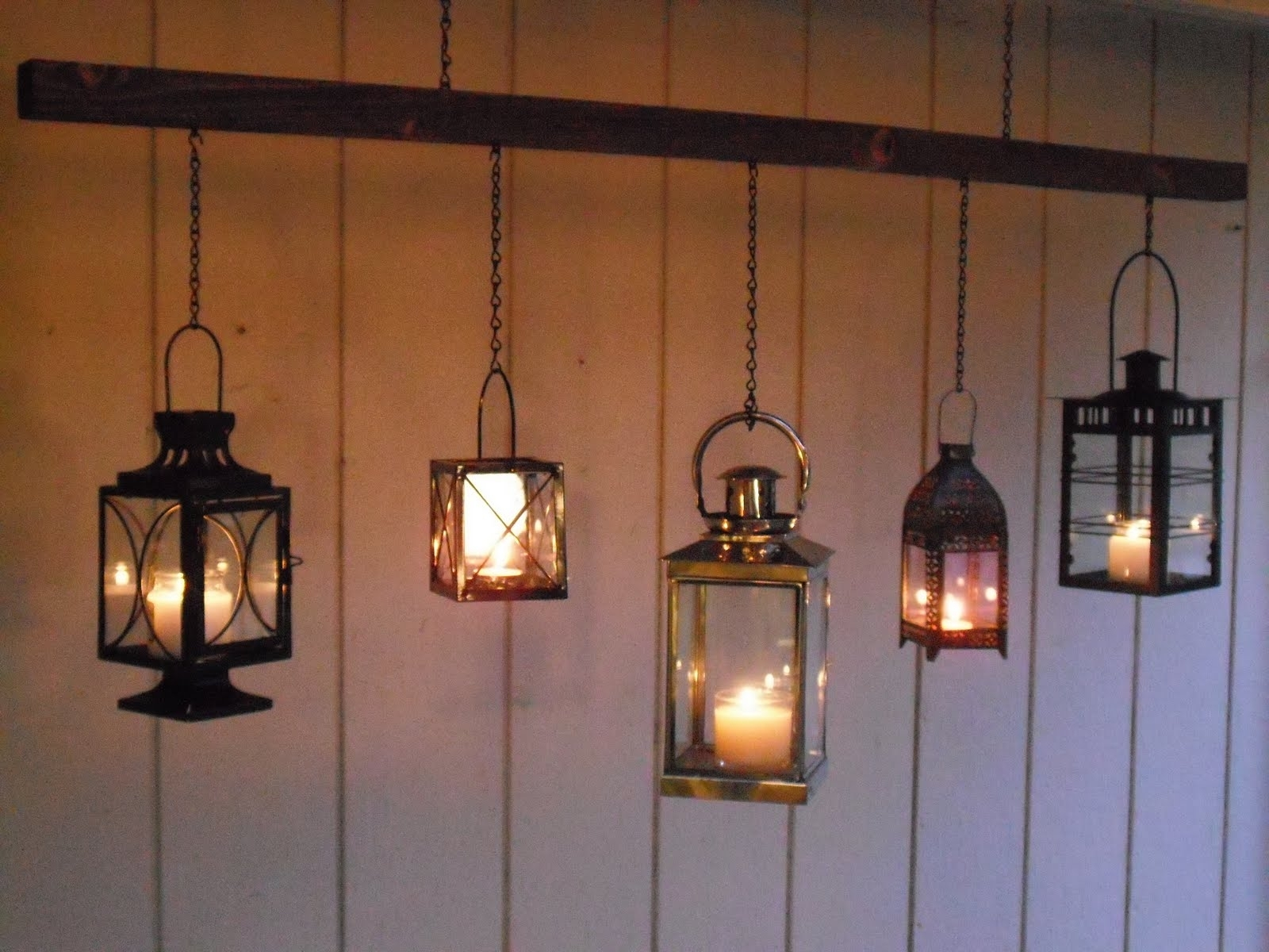 15 Inspirations Of Outdoor Hanging Candle Lanterns