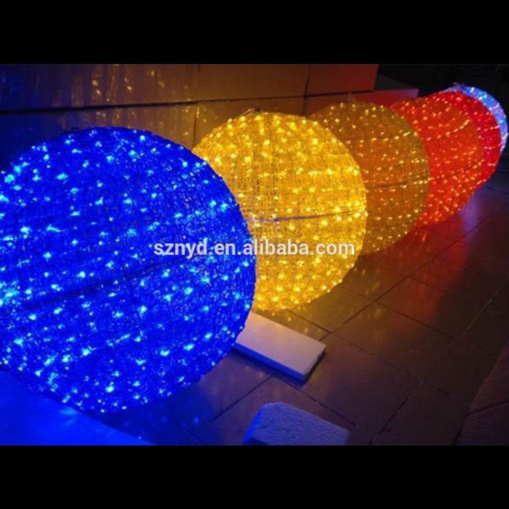 Wedding Decoration Light Ball Decorating Christmas Big Balls In Big Outdoor Hanging Lights (#13 of 15)
