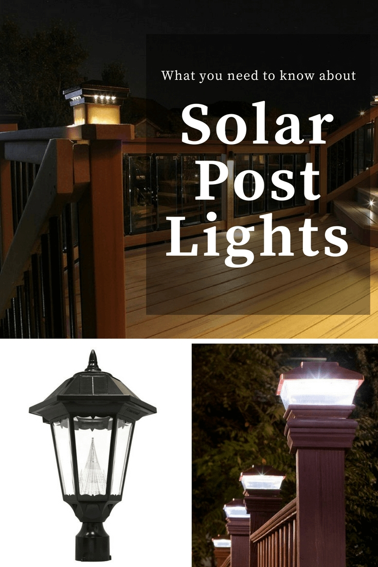 What You Need To Know About Solar Post Lights – The Solar Advantage In Contemporary Solar Driveway Lights At Target (#15 of 15)