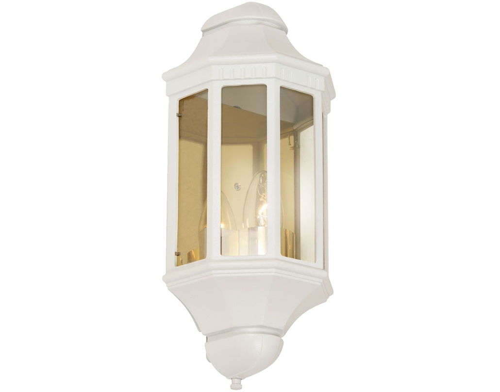 White Outdoor Wall Lights From Easy Lighting Inside Outdoor Wall Lights In White (#15 of 15)