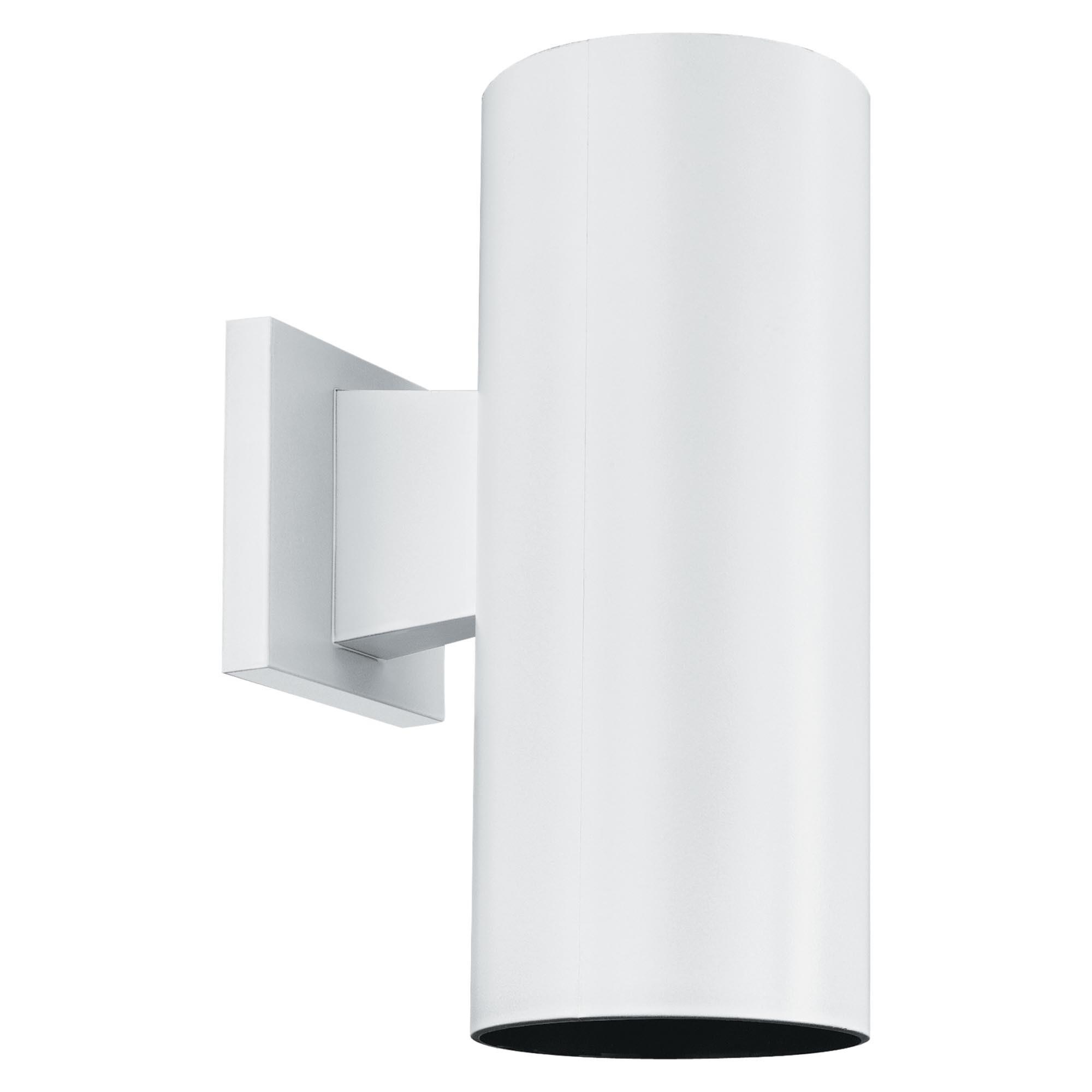 White Plastic Outdoor Light Fixtures • Outdoor Lighting In Plastic Outdoor Wall Lighting (#15 of 15)