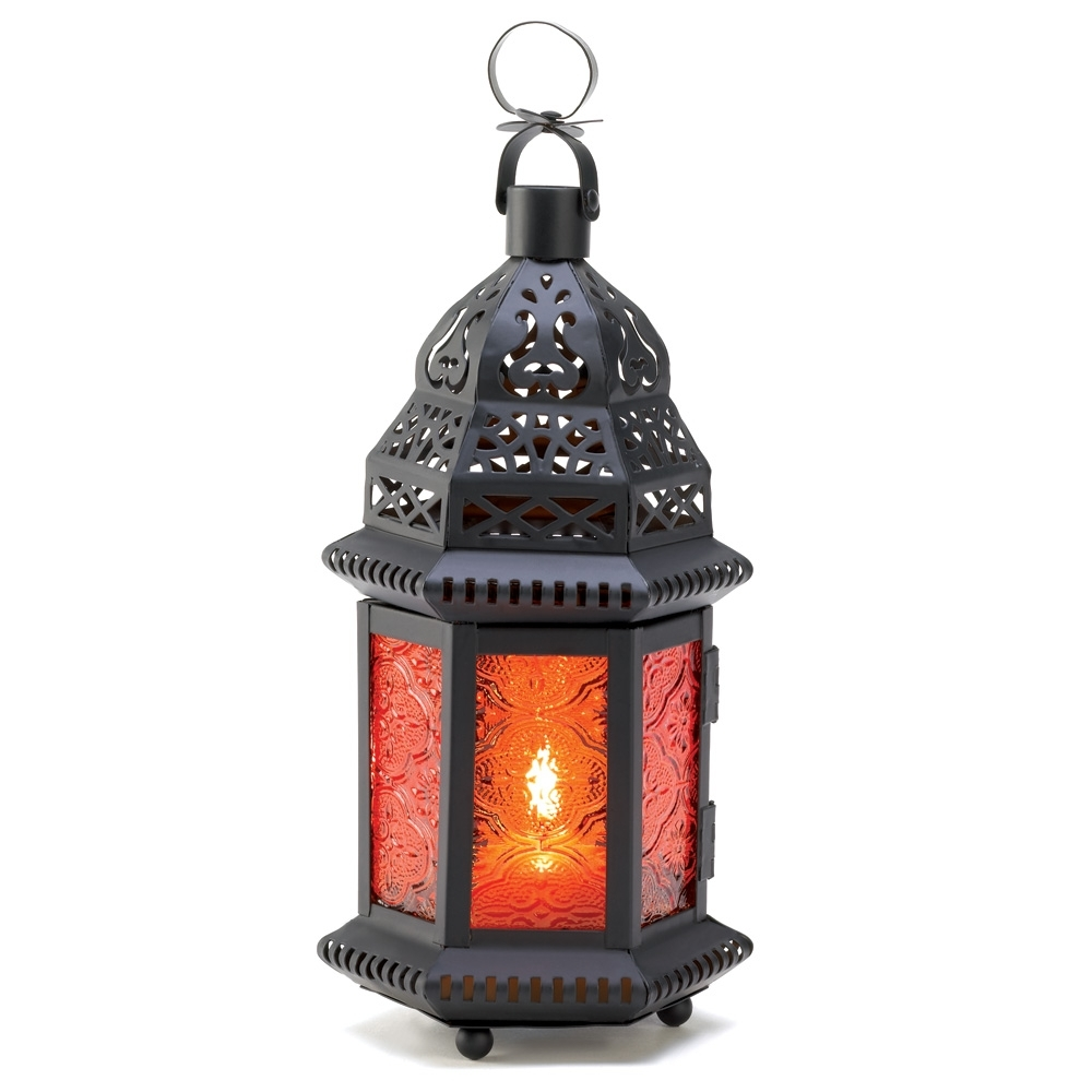 Wholesale Amber Moroccan Candle Lantern – Buy Wholesale Candle Lanterns Within Outdoor Hanging Candle Lanterns At Wholesale (#10 of 15)